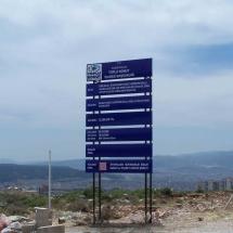 katlı inşaat tabelası